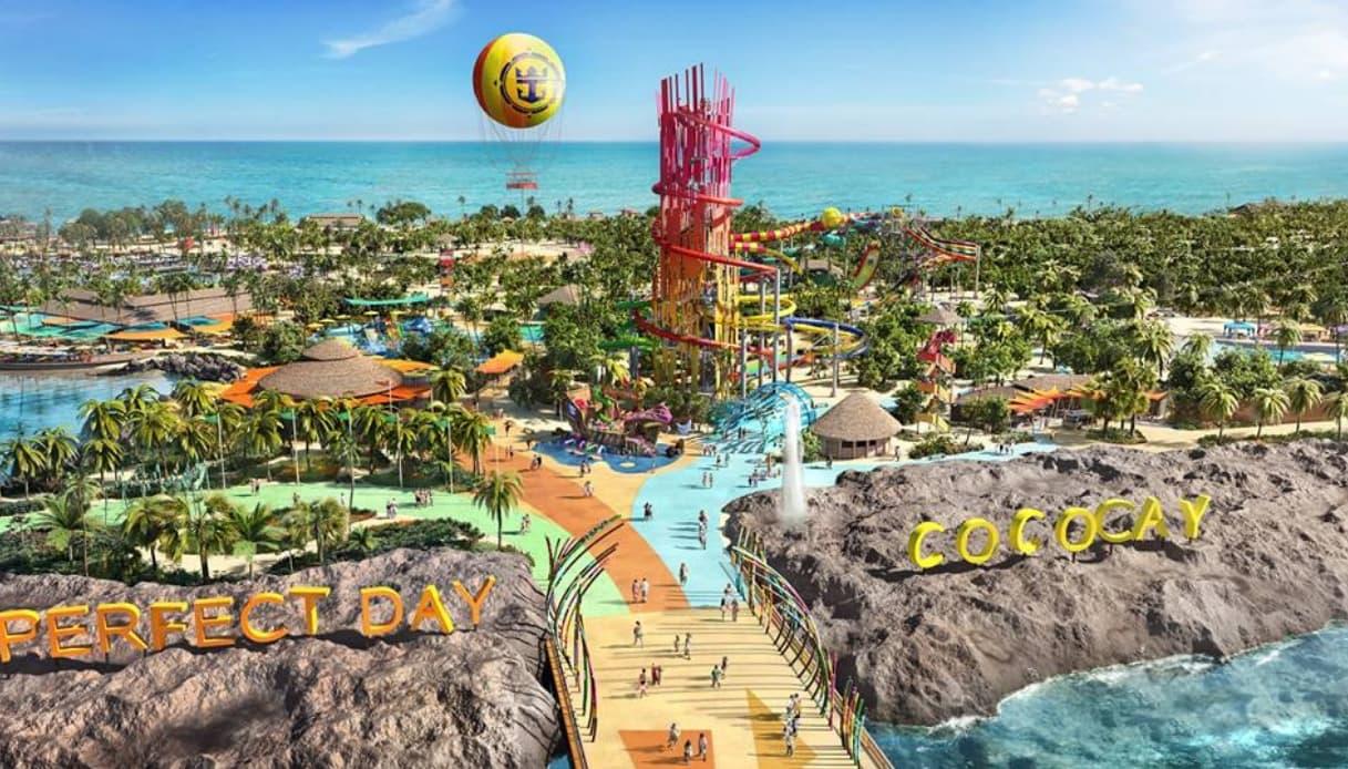 CocoCay, la nuova isola parco giochi di Royal Caribbean nelle Bahamas