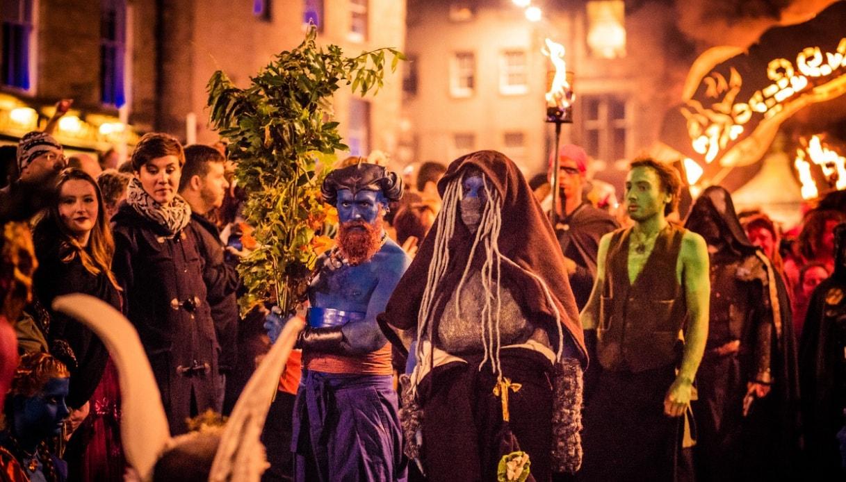 Halloween ad Edimburgo