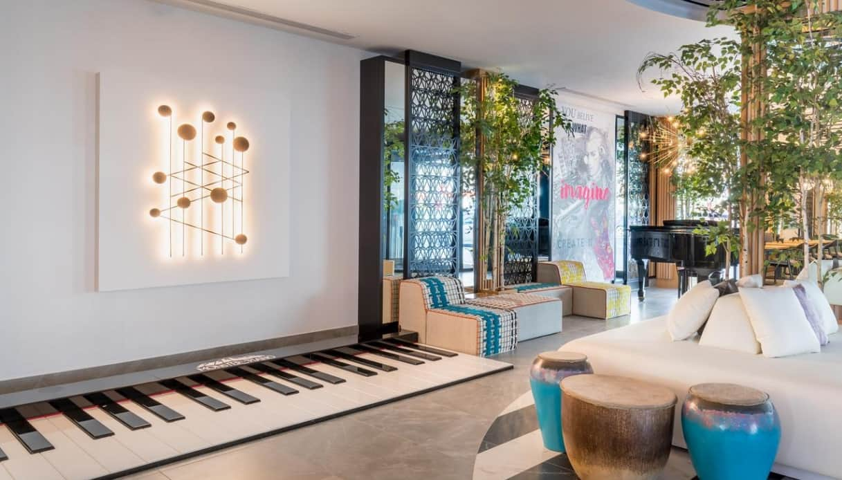 hotel a tema musicale