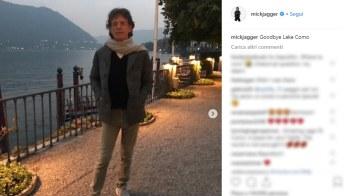 I luoghi di Mick Jagger sul Lago di Como