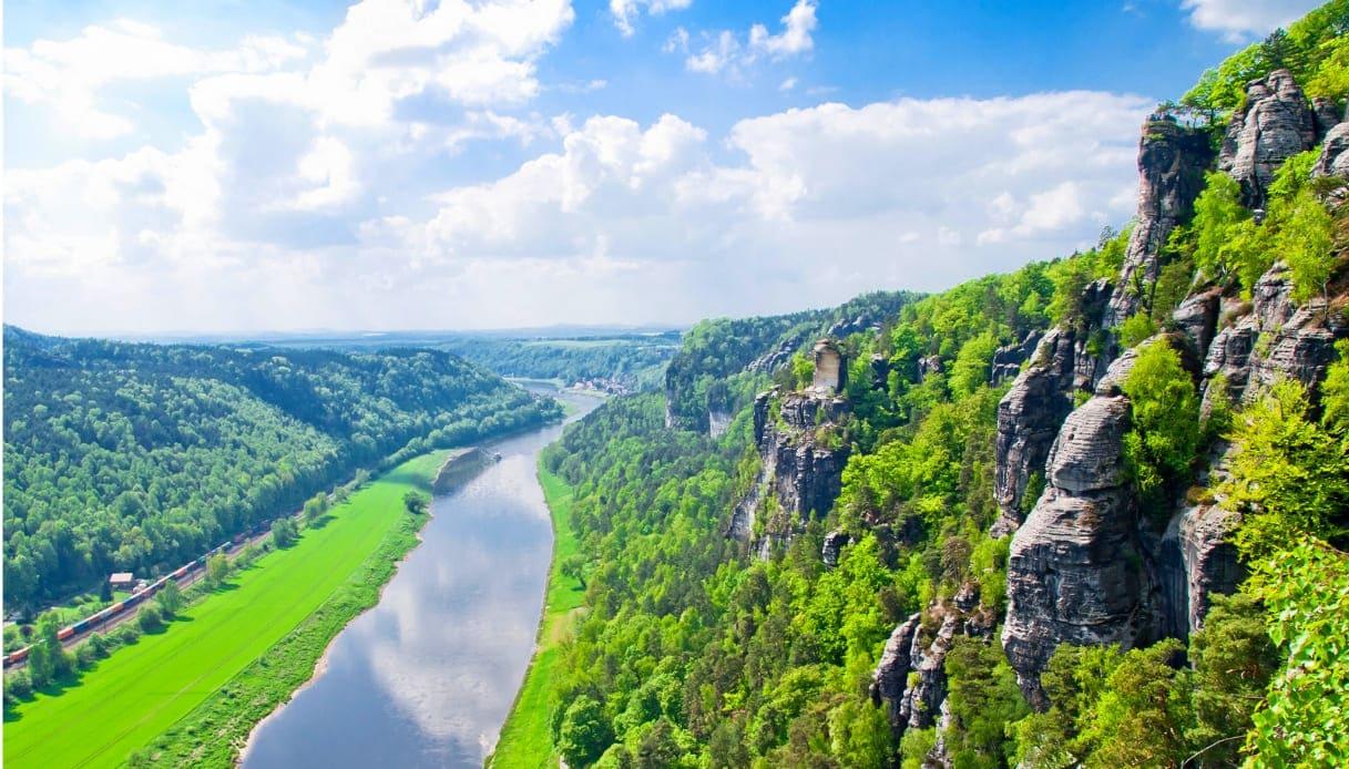 Svizzera Sassone - Fiume Elba