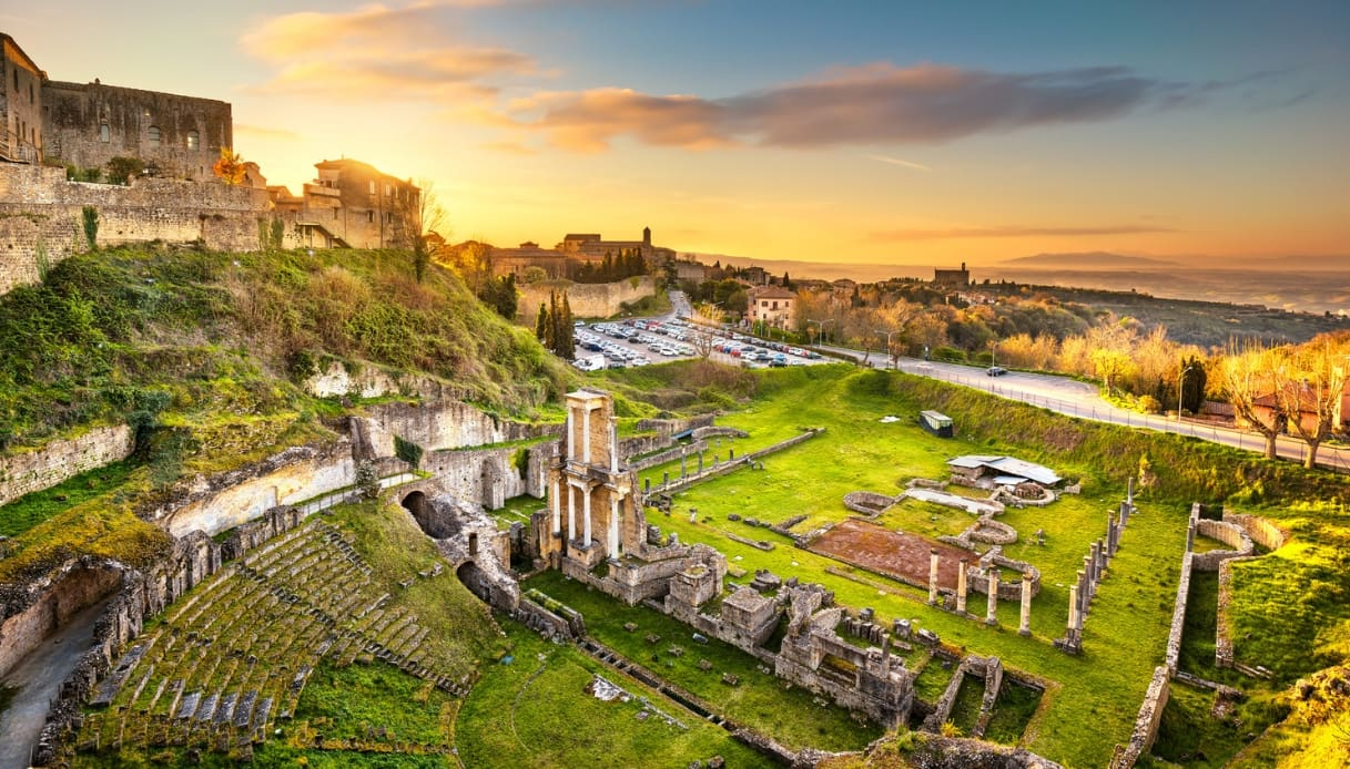 Volterra - Teatro romano