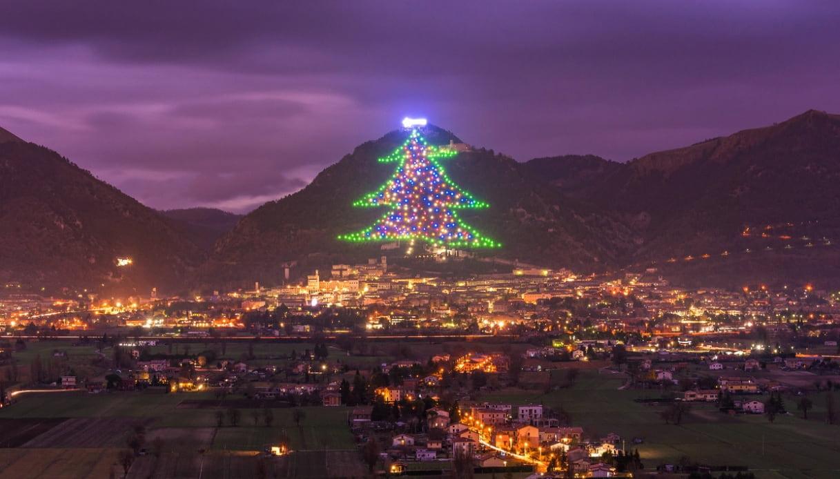 Albero di Natale - Gubbio