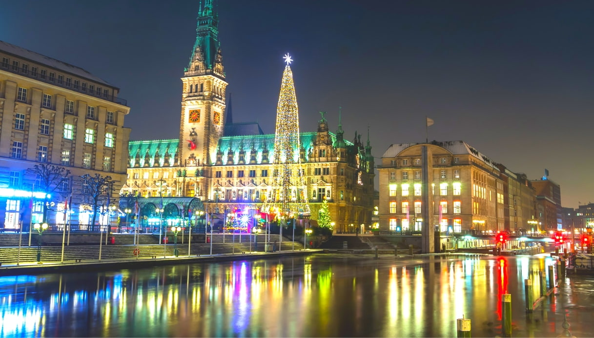 Amburgo - mercati Natale