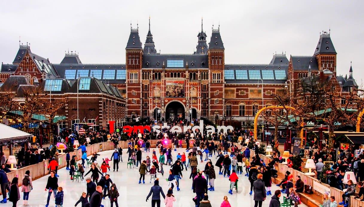 Amsterdam - mercati Natale