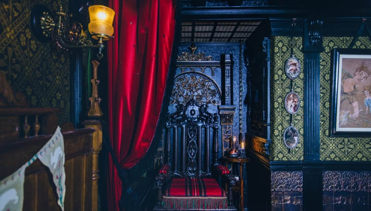 Camera stregata Londra