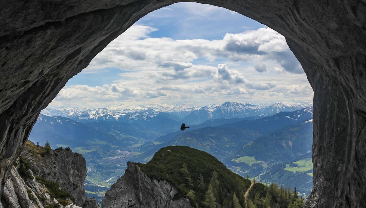 Eisriesenwelt-grotta