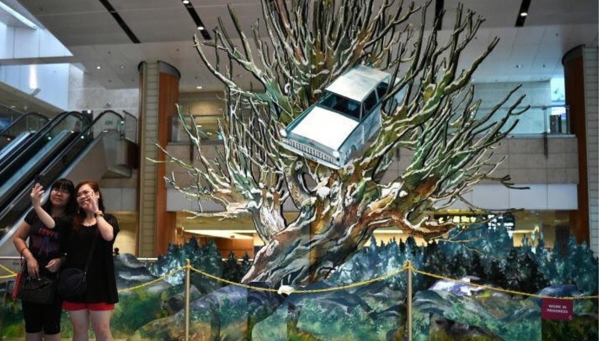 Aeroporto Changi - Harry Potter