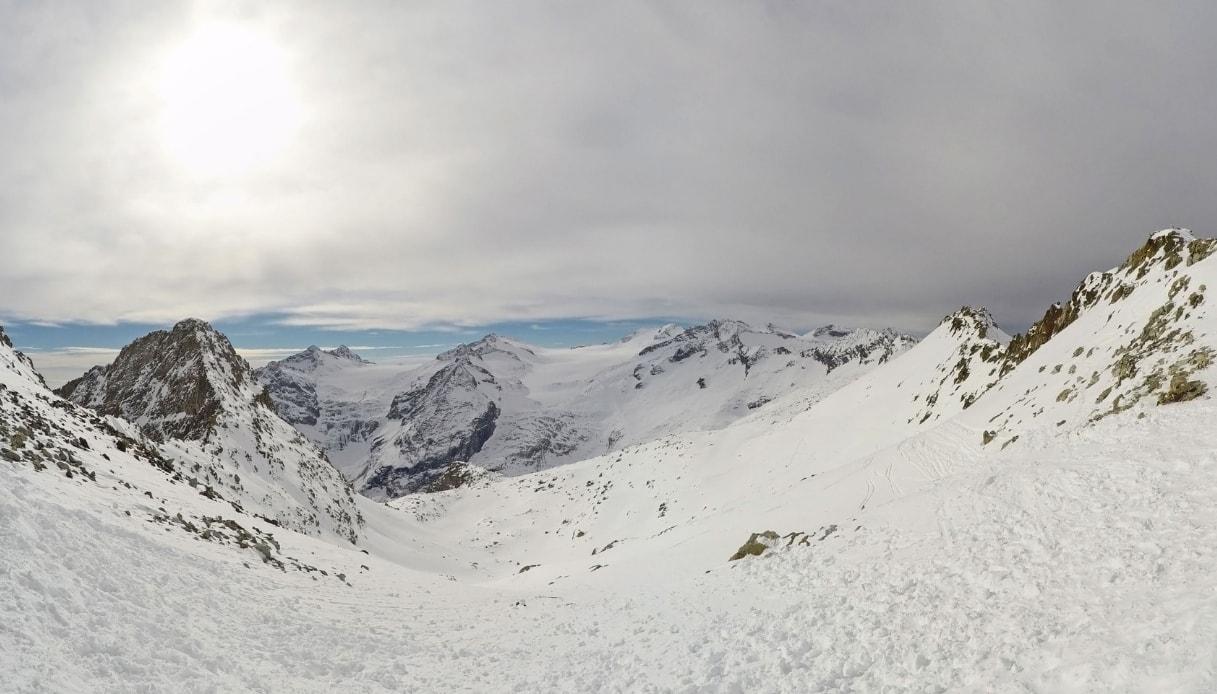 Il ghiacciaio dell'Adamello in Val Camonica è il più grande d'Italia