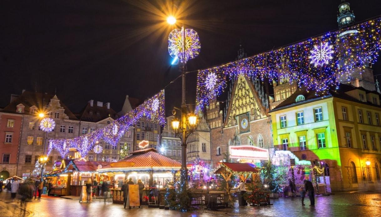 Il mercatino di Breslavia, dove le fiabe di Natale prendono vita