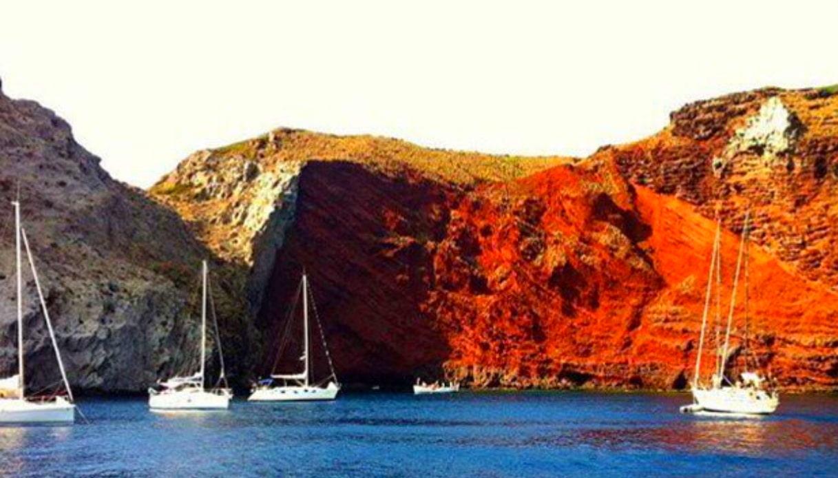 Isola Capraia - Cala Rossa