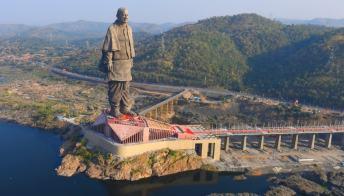 La statua più alta del mondo è in India