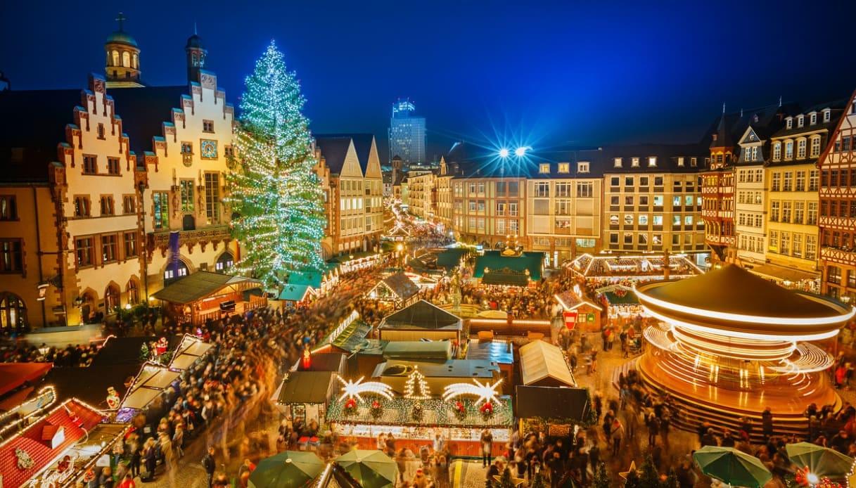 Immagini Di Mercatini Di Natale.Mercatini Di Natale In Europa Siviaggia