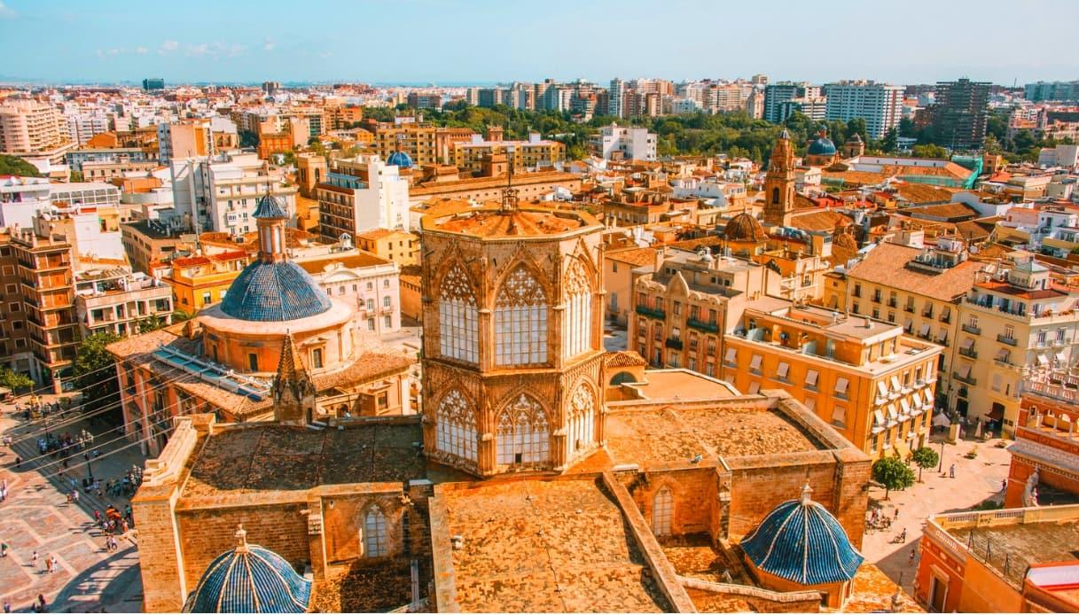 Panoramica di Valencia
