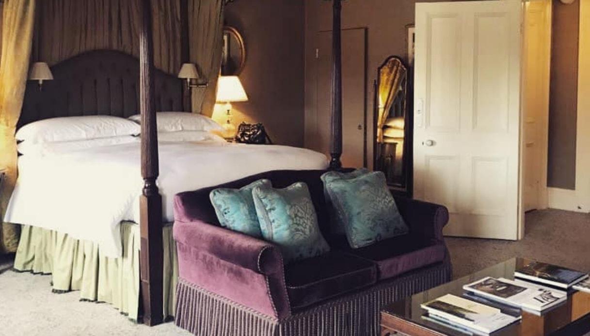 Questa è la camera d'hotel dove Meghan ha dormito alla vigilia delle nozze