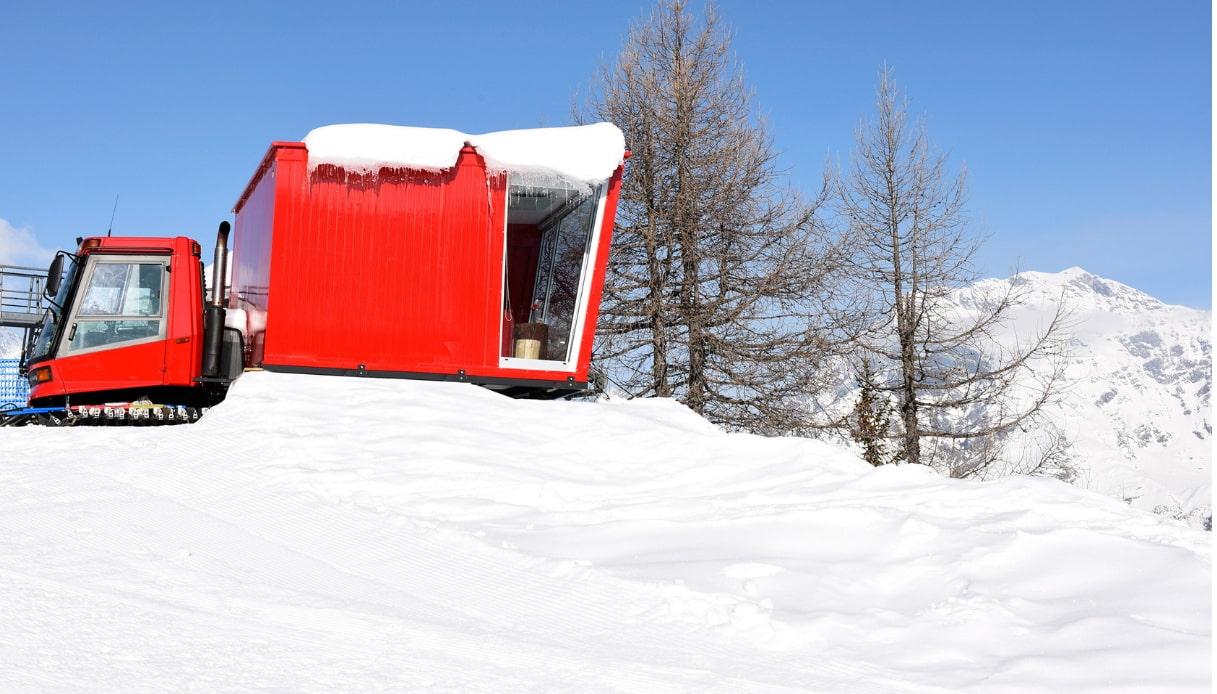 Valmalenco - Suite su gatto delle nevi