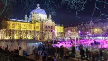 Il mercatino di Natale di Zagabria è il più bello d'Europa