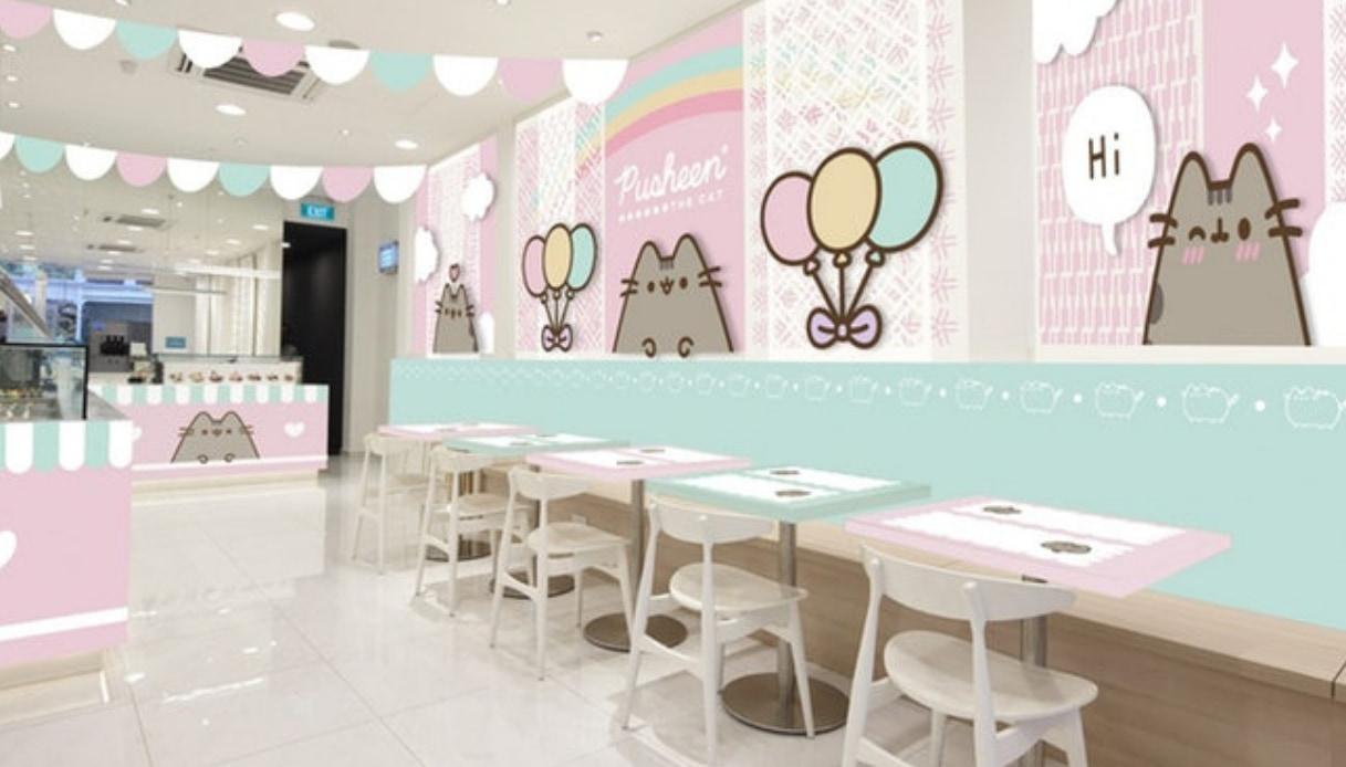 A Singapore aprirà un Pusheen Café