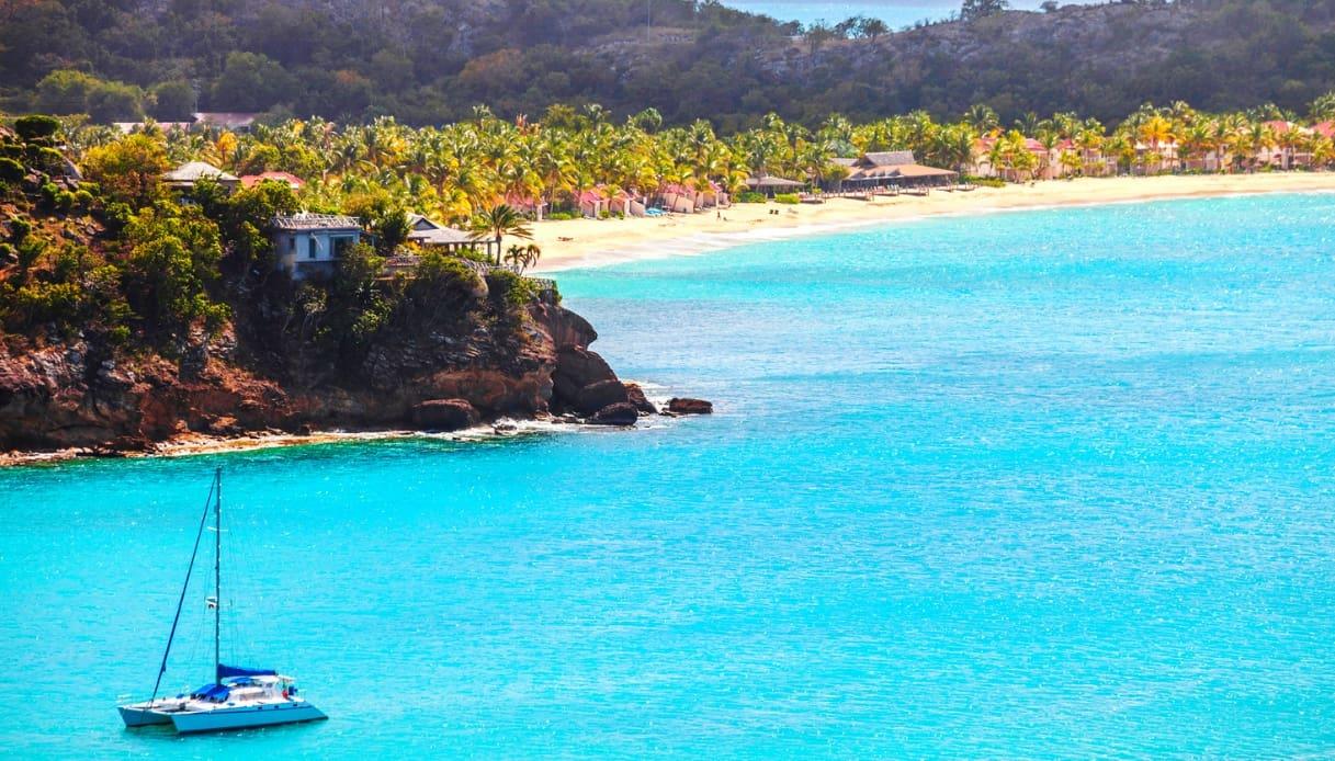 Barca a vela - Antigua