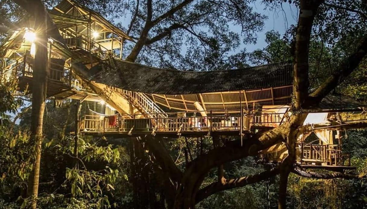 Casa sull'albero - Laos
