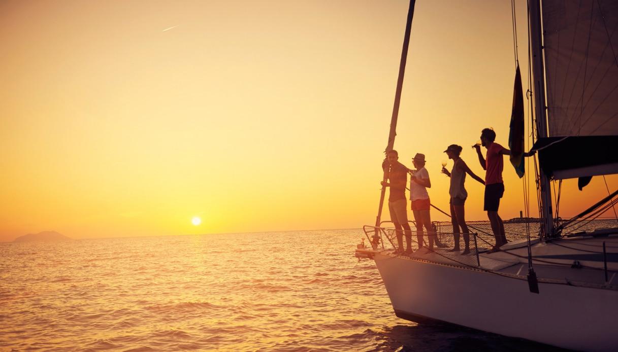 Drink in barca a vela