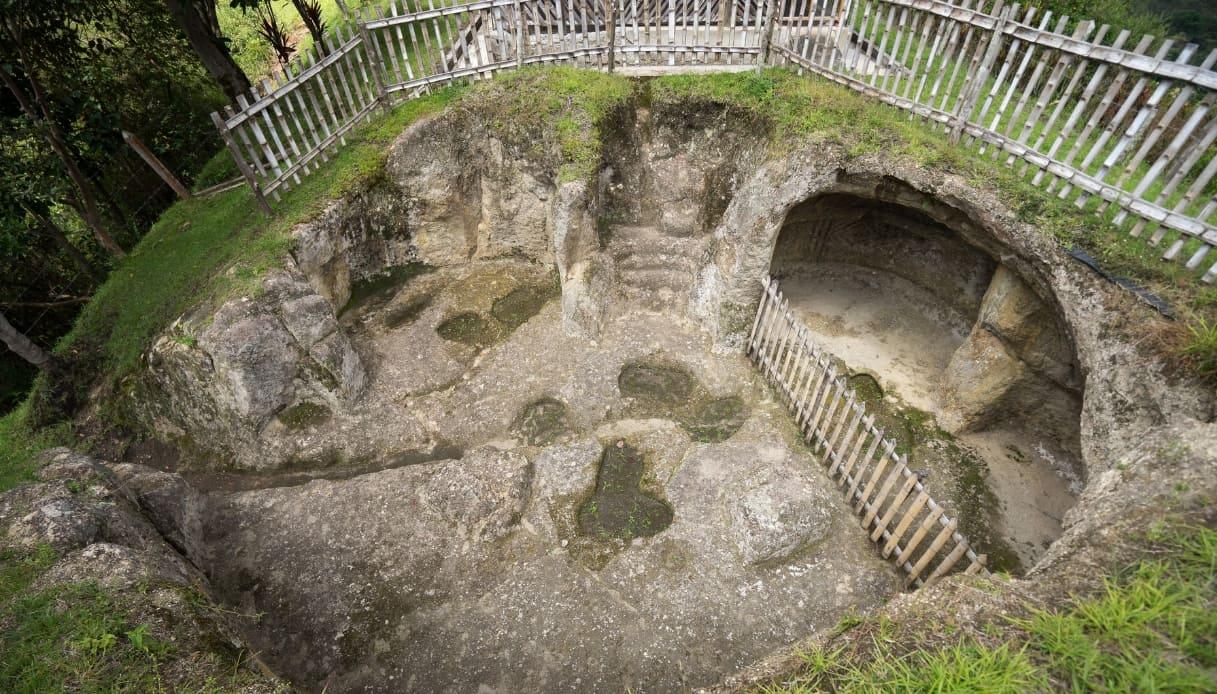 Ingresso tomba Tierradentro