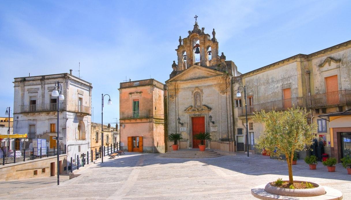 Montescaglioso, la città dei monasteri set de I Moschettieri del Re