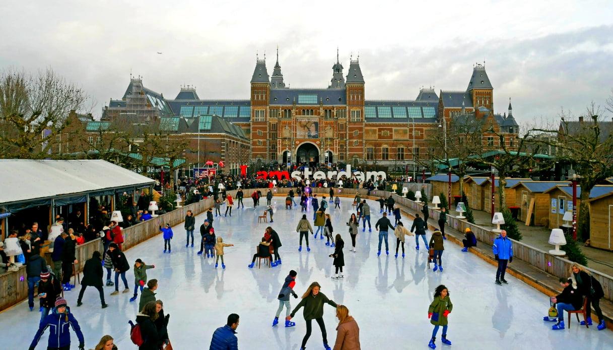 Pista di ghiaccio - Amsterdam