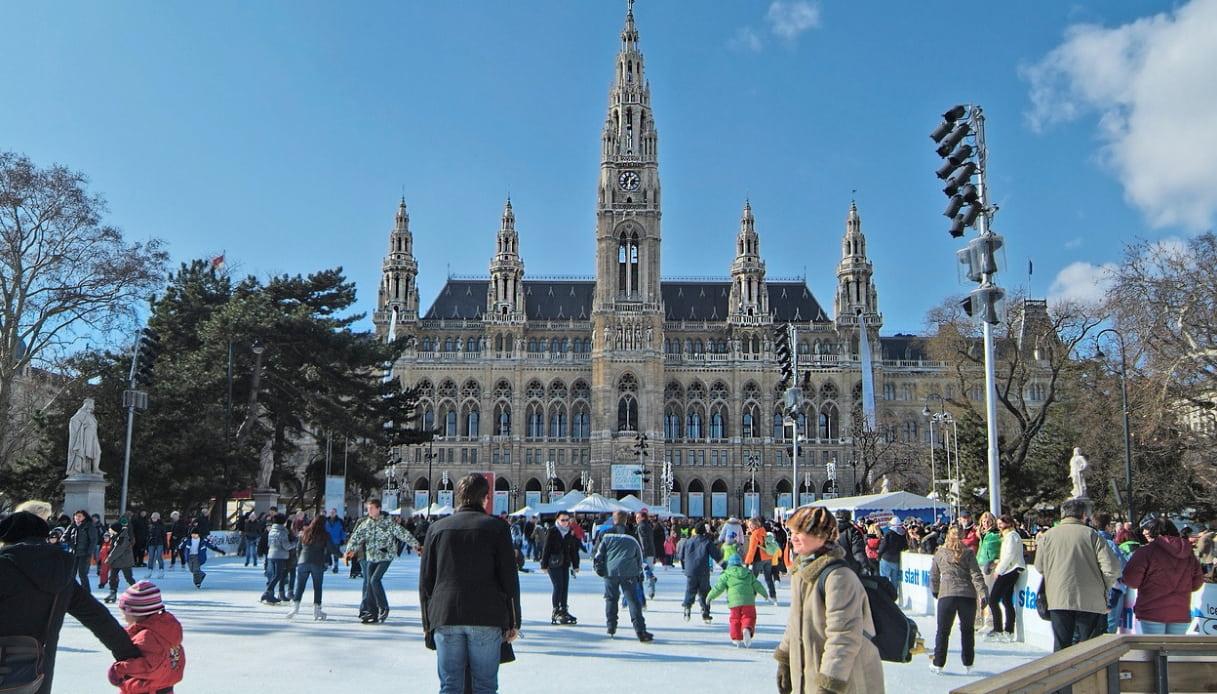 Pista di pattinaggio Vienna