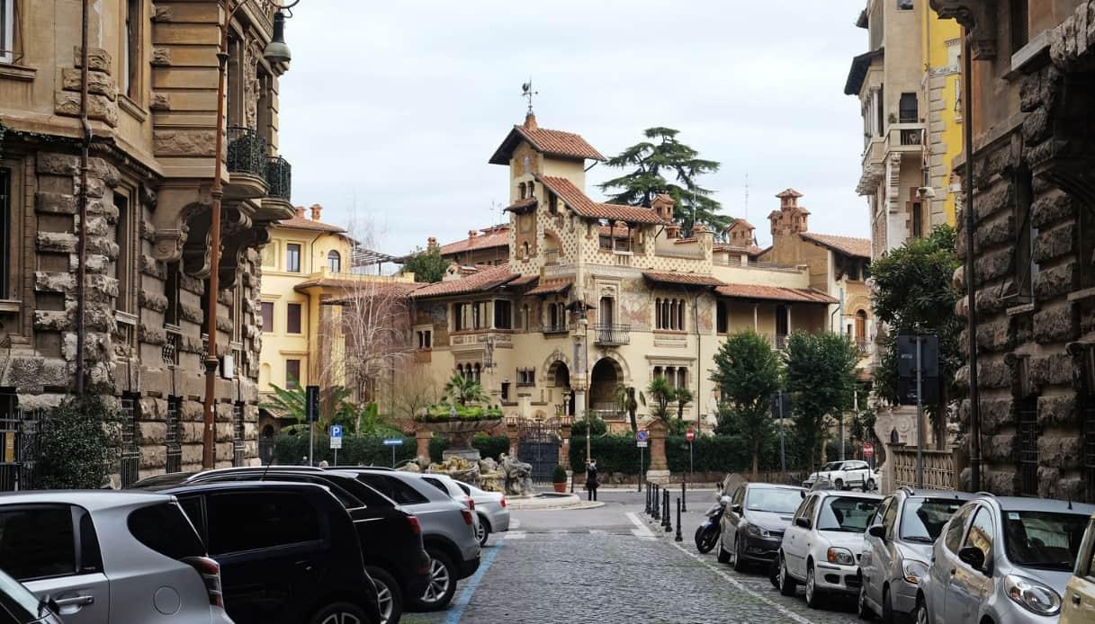 Roma quartiere Coppedè