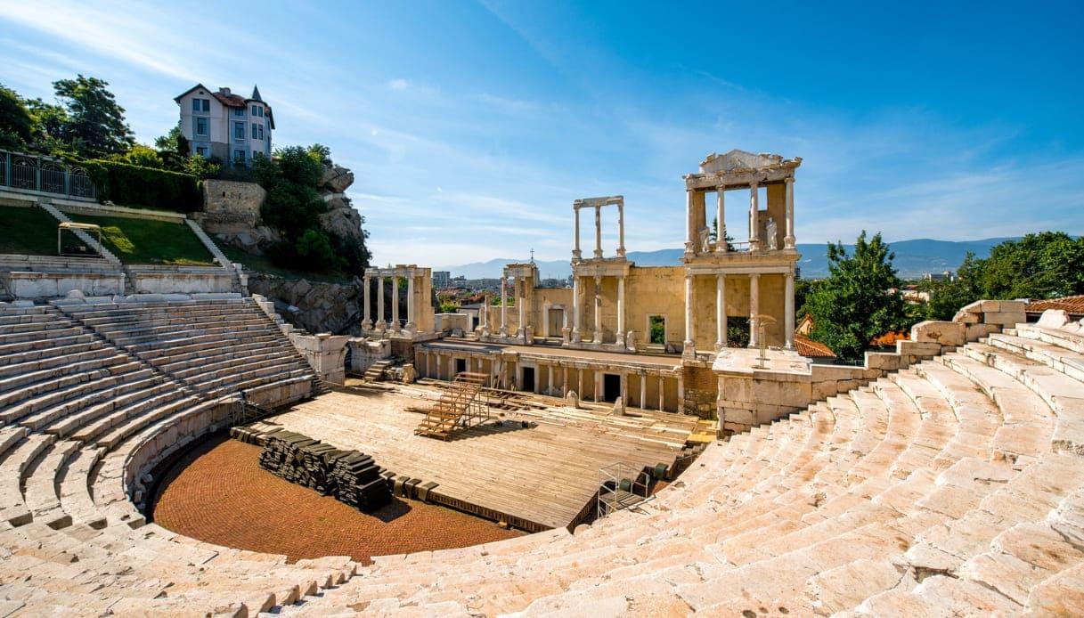Teatro romano a Plovdiv