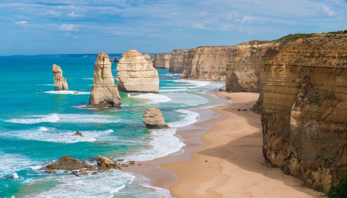 Il nuovo treno che attraversa l'Australia regala panorami spettacolari