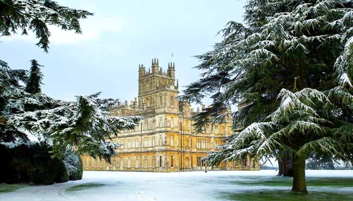 Highclere Castle - Downtown Abbey