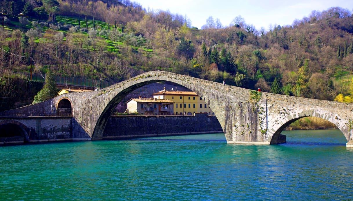 Ponte sul fiume - Garfagnana