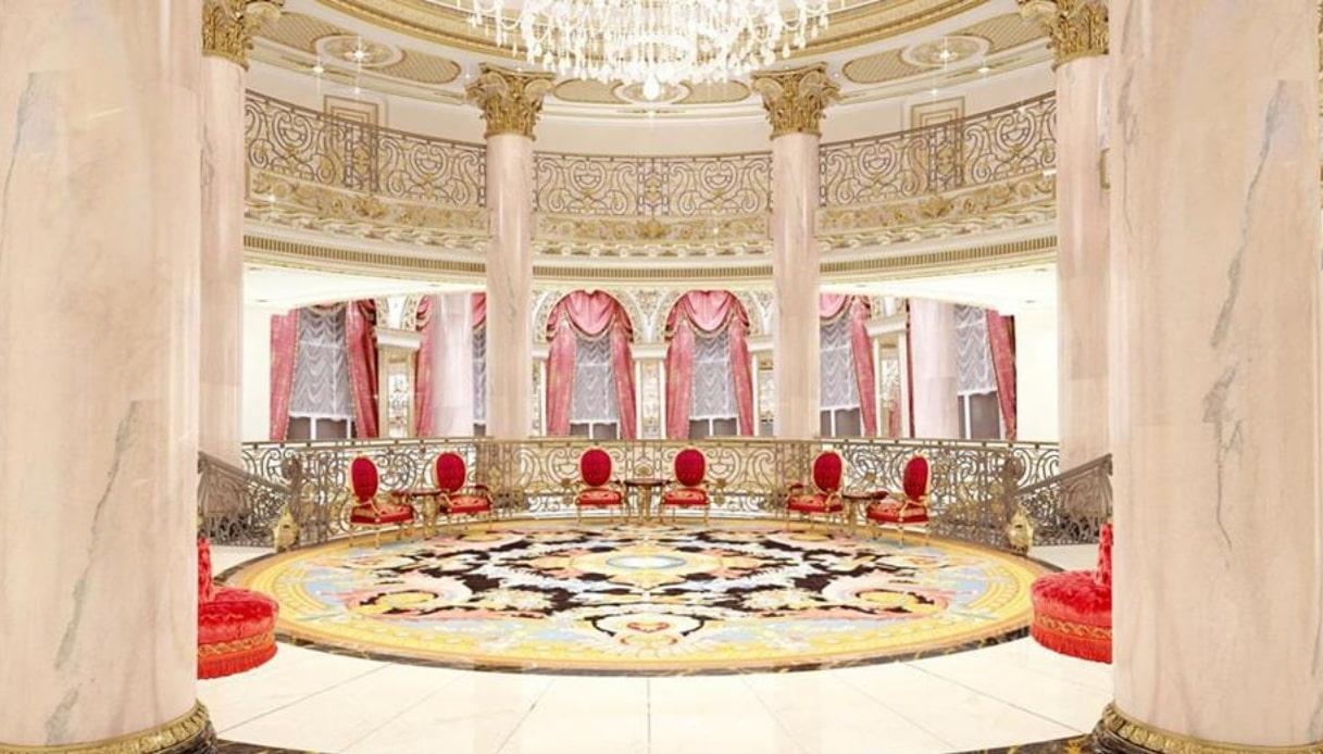 salone Emerald Palace Kempinski Dubai