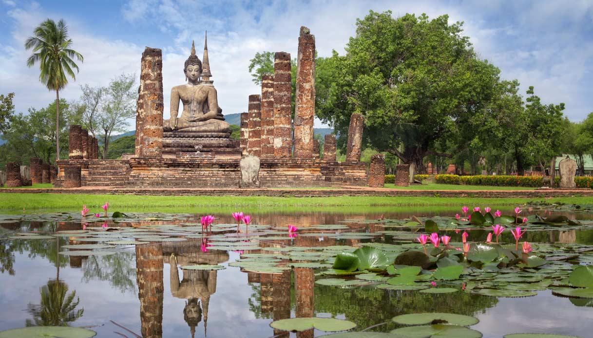 Sukhothai-thailandia