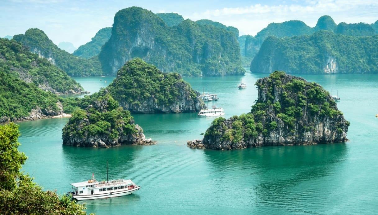 La Baia di Ha Long, in Vietnam, ora può essere raggiunta in aereo