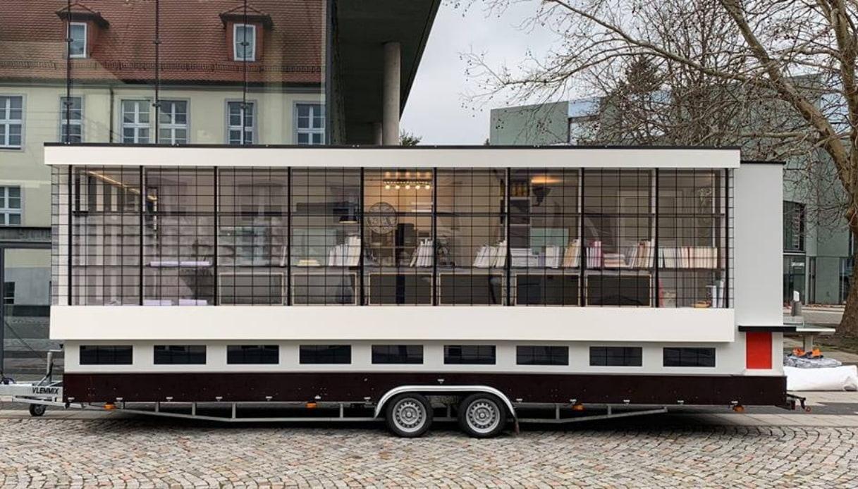 Centenario del Bauhaus: il pullman che girerà il mondo per celebrarlo