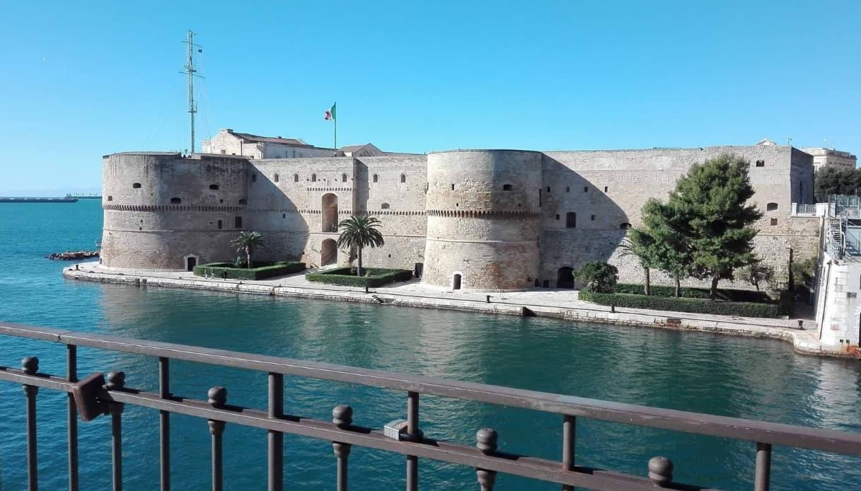 castello aragonese, taranto
