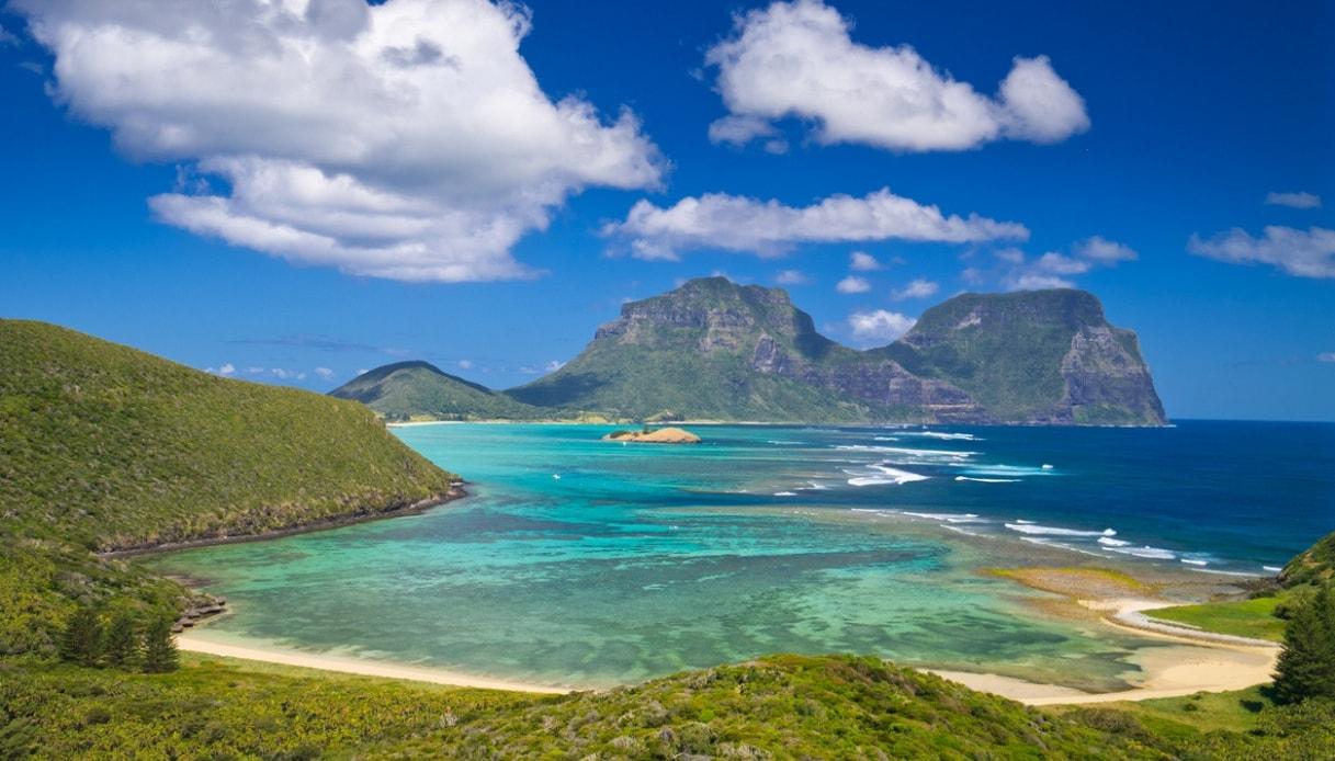 Lord Howe, l'isola australiana che ammette solo 400 turisti alla volta