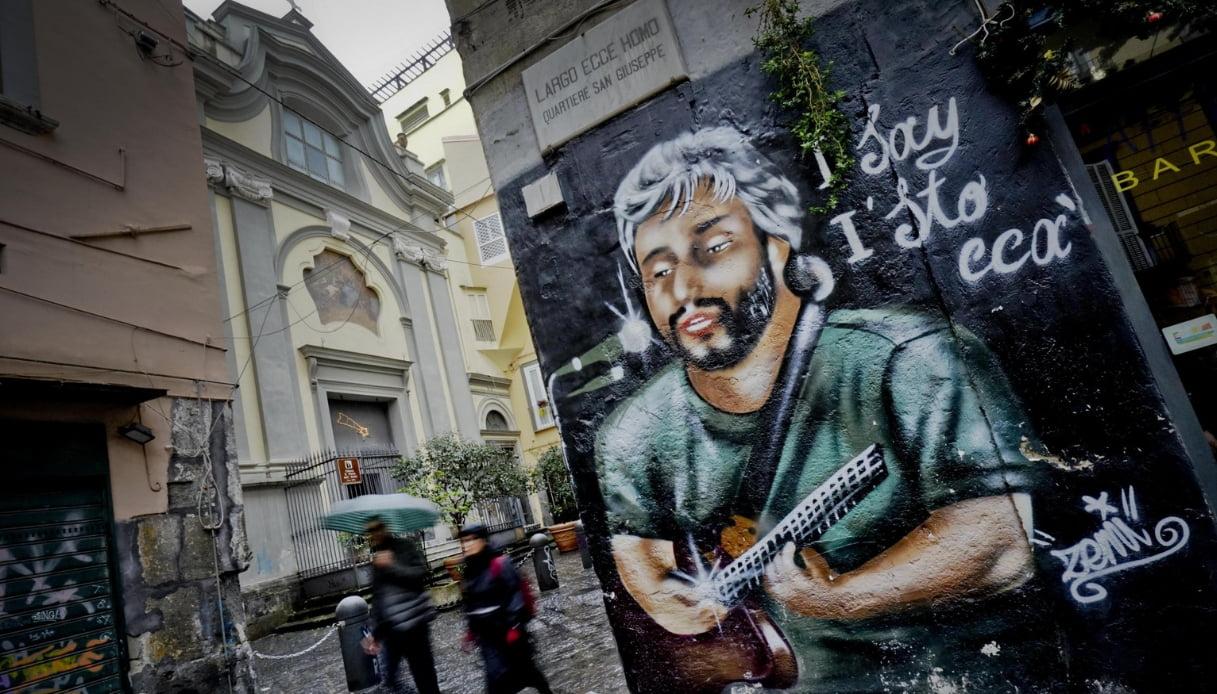 Murales Pino Daniele