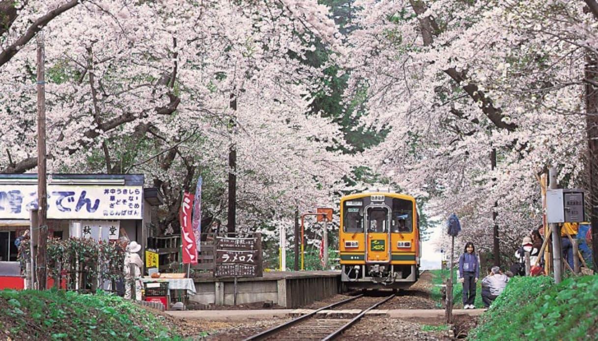 Giappone - Treno stufa