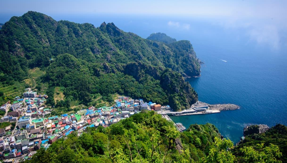 Ulleungdo, l'isola della Corea del Sud avvolta da magia e mistero