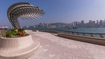 La passeggiata delle stelle riapre a Hong Kong