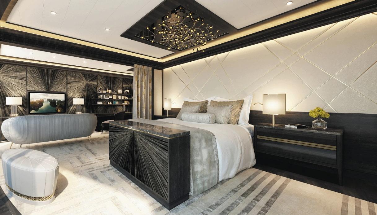 Camere Da Letto Piu Belle Del Mondo in crociera con stile, ecco il letto da 175mila euro | siviaggia