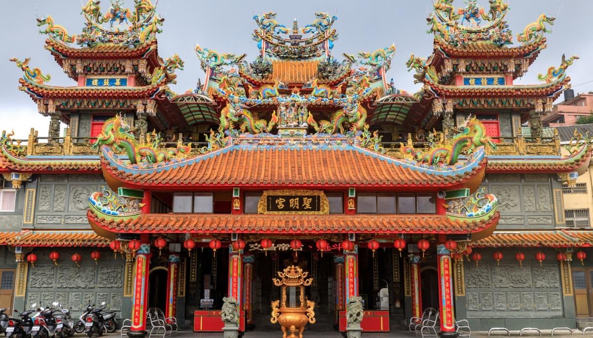 tempio di Taipei
