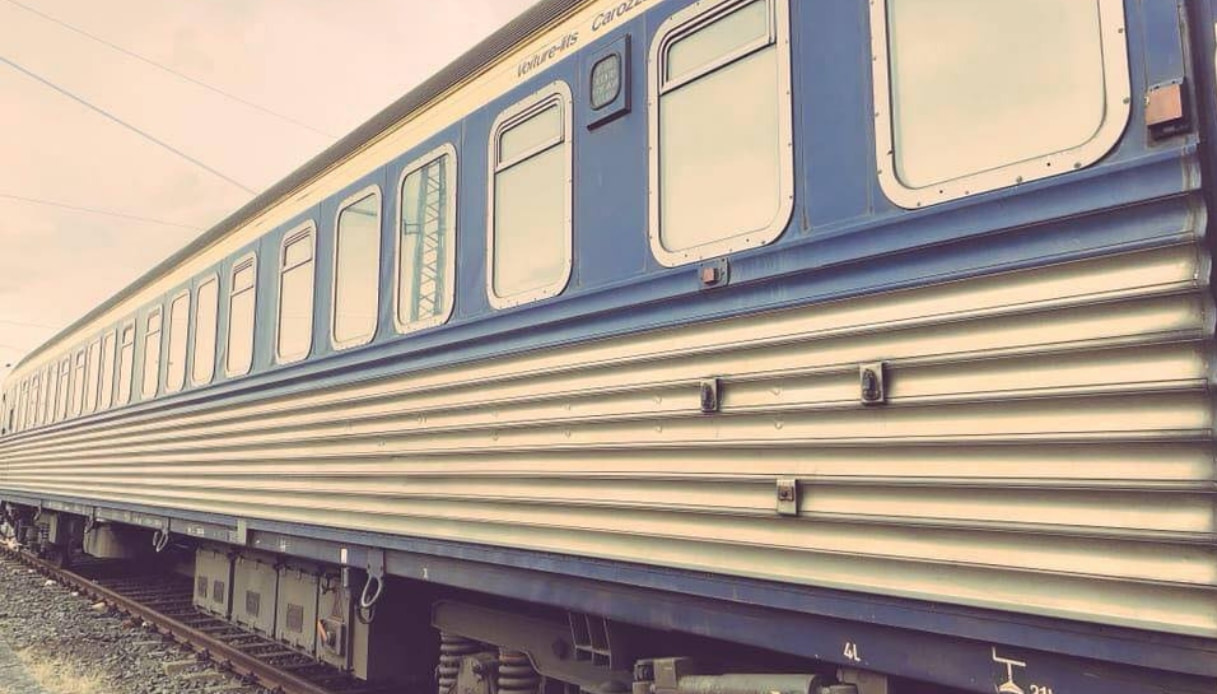 night jazz train