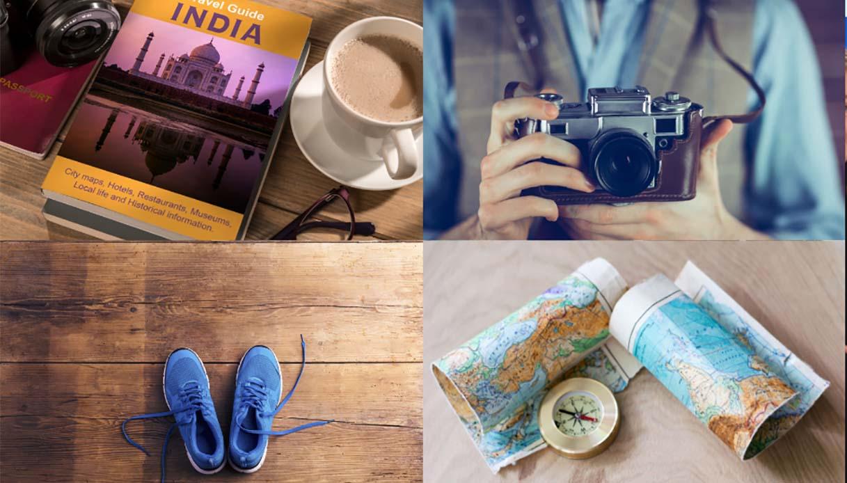 Sei un turista o un viaggiatore? Scegli l'oggetto che metteresti in valigia per scoprirlo