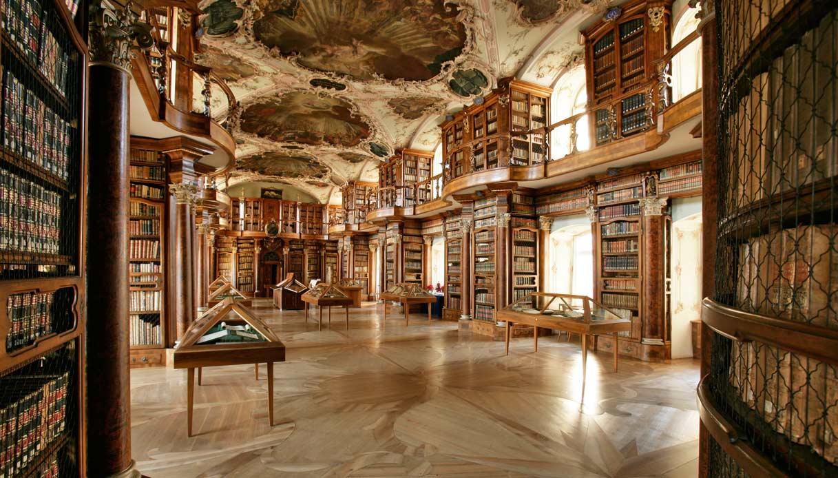 Biblioteca-San-Gallo-Svizzera-Il-nome-della-rosa