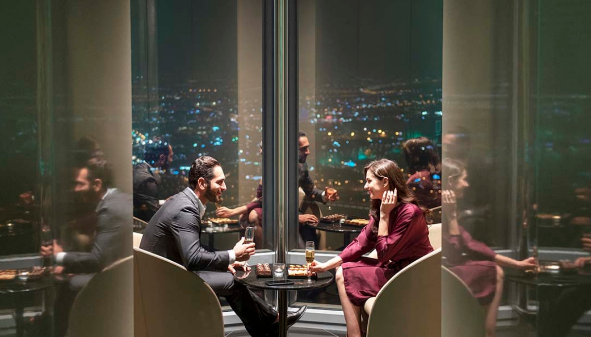 Burj Khalifa - The Lounge